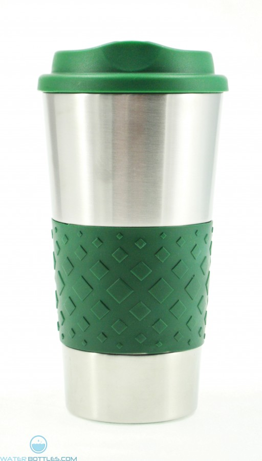Grip N Go Stainless Tumblers | 16 oz - Hunter Green