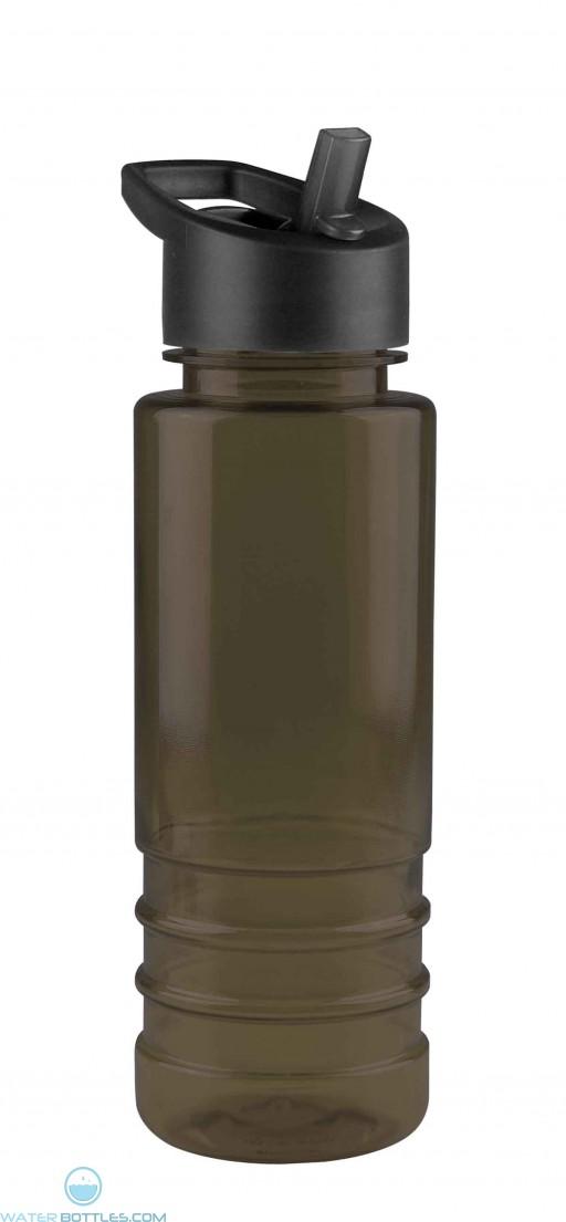 Digital 24 oz Sergeant Stripe Tritan Bottles-Smoke