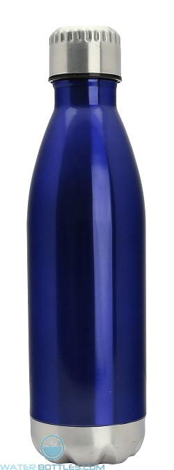 17 oz Stainless Steel Kula Thermal Water Bottles-Blue