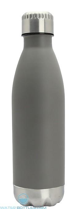 17 oz Stainless Steel Kula Thermal Water Bottles-Gray