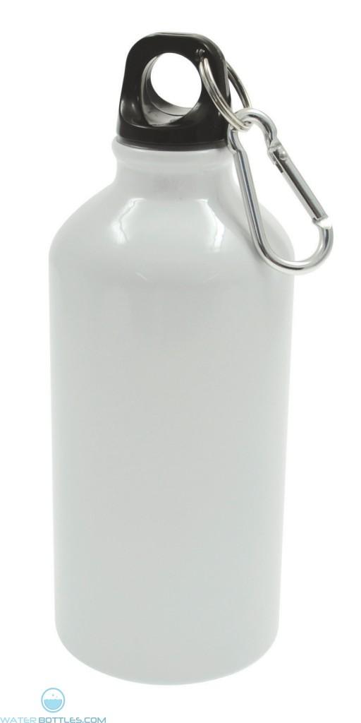 Geo Aluminum Bottles | 17 oz - White