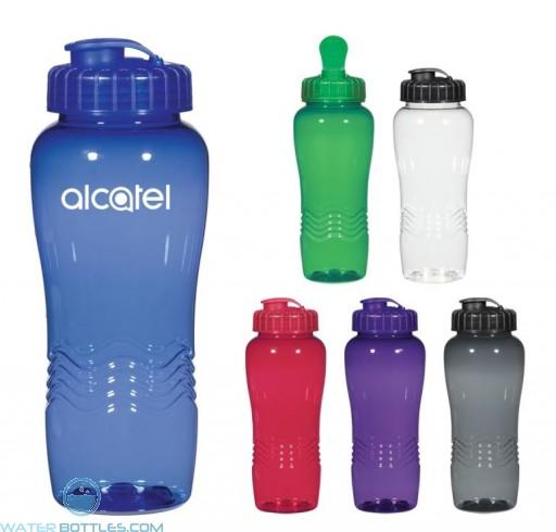 Poly-Clean Wave Bottles | 26 oz