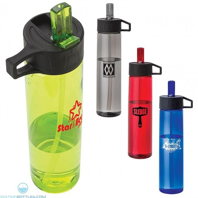 Personalized tritan water bottle 25 oz custom water for Unique plastic bottles