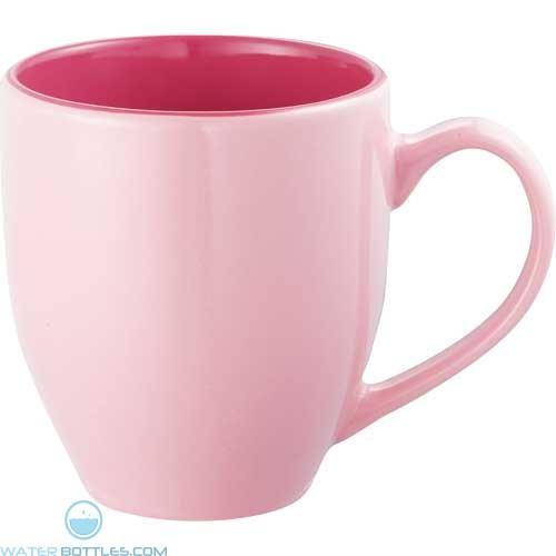 Pink Zapata Mugs Pastel 15 Oz