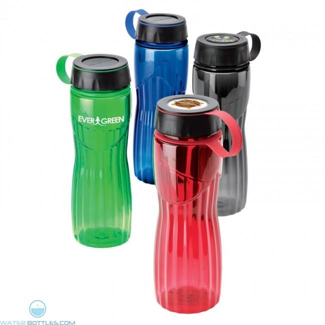 Personalized water bottle 24 oz custom water bottles for Unique plastic bottles