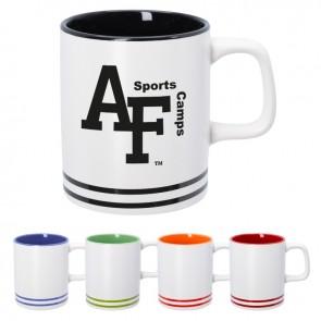 10 oz Lacrosse Ceramic Mug