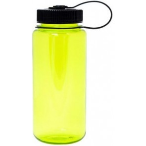 Nalgene Wide Mouth Water Bottles | 16 oz - Neon Green