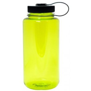 Nalgene Wide Mouth Water Bottles | 32 oz - Neon Green