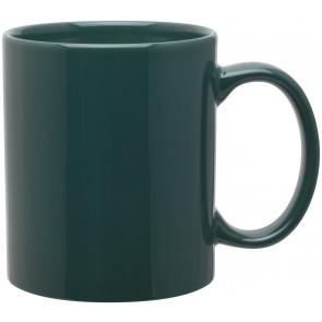 11 oz c-handle mugs-glossy-green