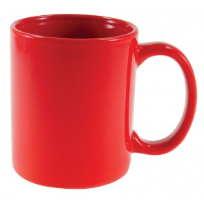 Cafe Mugs | 11 oz - Red