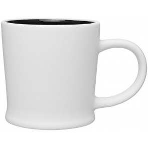 12 oz Matte White Turno Mug_Black Interior_Blank