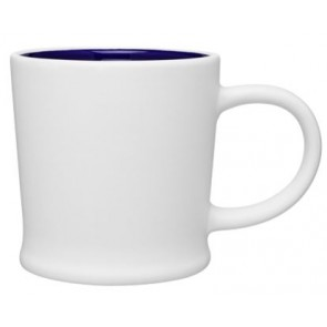 12 oz Matte White Turno Mug_Blue Interior_Blank