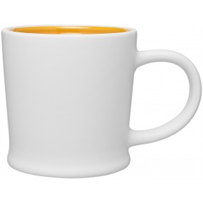 12 oz Matte White Turno Mug_Yellow Interior_Blank