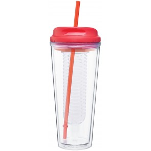 Double Wall Acrylic Infuse | 20 oz - Red
