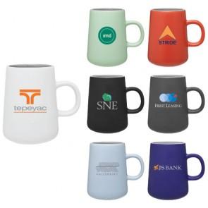 Custom Ceramic Coffee Mugs - 15 oz Inverti Ceramic Coffee Mugs
