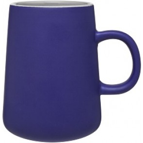 15 oz Inverti Ceramic Coffee Mugs-Blue