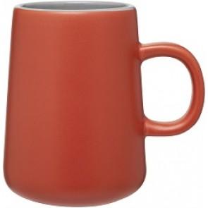 15 oz Inverti Ceramic Coffee Mugs-Orange