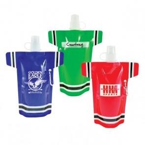 Personalized Water Bottles - Super Fan Flat Promo Bottles | 16 oz