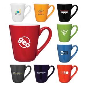 Custom Coffee Mugs - 16 oz Vito Ceramic Coffee Mug