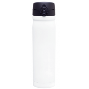 White Vessel Stainless Steel Water Bottles | 15 oz