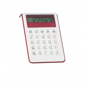 Personalized Large Calculator With Sound - Red