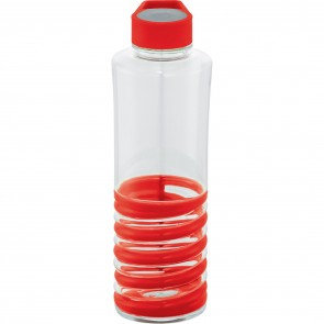 Personalized Spiral Bottles | 24 oz - Red