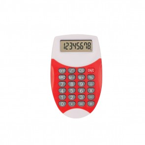 Promo Oval Calculator - Red