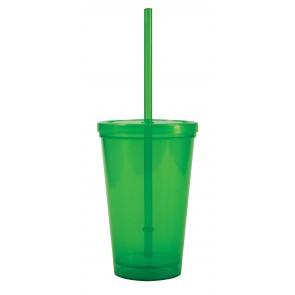 Free 2 Go Tumblers   16 oz - Lime Green