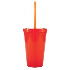 Free 2 Go Tumblers   16 oz - Orange