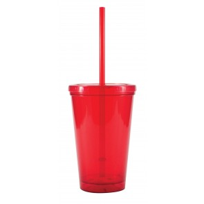 Free 2 Go Tumblers | 16 oz - Red