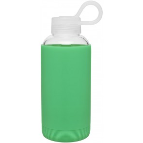 16 oz H2Go Karma Glass Bottle_Jade Green_Blank