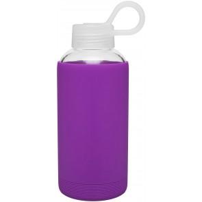 16 oz H2Go Karma Glass Bottle_Purple_Blank
