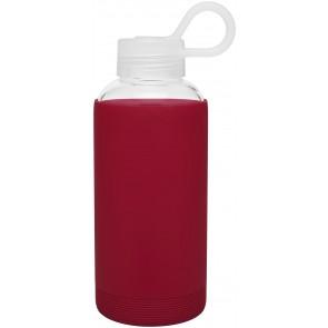16 oz H2Go Karma Glass Bottle_Red_Blank