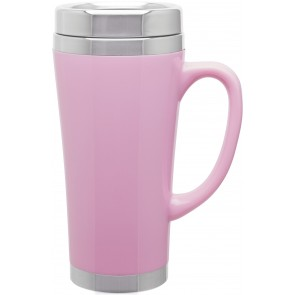 Fusion Insulated Travel Mugs | 16 oz - Pink