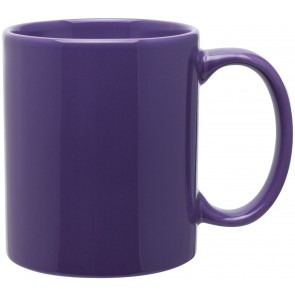 11 oz c-handle mugs-glossy-purple