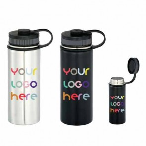 18 oz Trek Vacuum Insulated Water Bottle