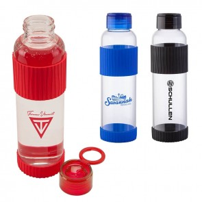 18 oz Krystal Glass Water Bottle