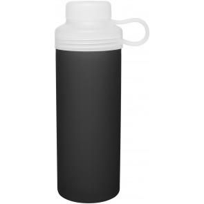 20 oz H2Go Zen Glass Water Bottles-Black