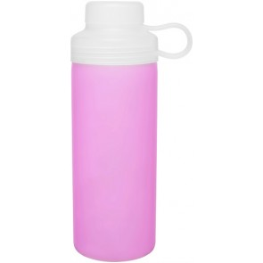 20 oz H2Go Zen Glass Water Bottles-Pink