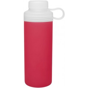 20 oz H2Go Zen Glass Water Bottles-Red