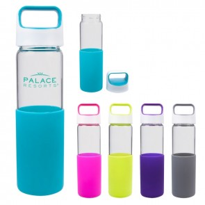 20 oz Lela Glass Water Bottle