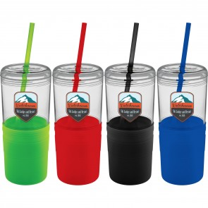 22 oz Babylon Tumbler with Straw