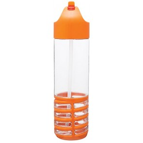 22 oz H2Go Swerve Tritan Water Bottles-Orange