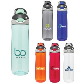 Personalized Water Bottles - 24 oz Contigo Chug Water Bottle