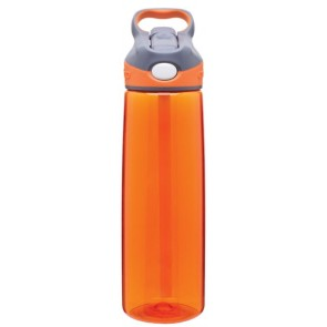 Orange Contigo Addison Plastic Water Bottles | 24 oz