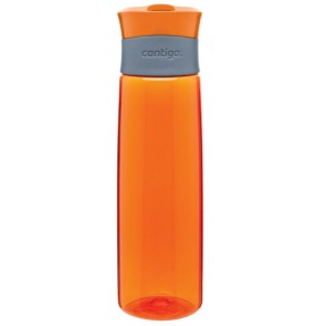 Orange Contigo Madison Plastic Water Bottles | 24 oz