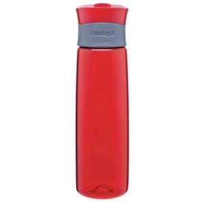 Red Contigo Madison Plastic Water Bottles | 24 oz