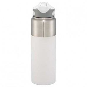 25 oz Nile Copper Vacuum Insulated Bottles-White