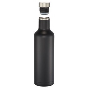 25 oz Pinto Copper Vacuum Insulated Bottles-Black
