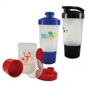 Custom Logo Water Bottles - Shake It Up Gym Bottles | 18 oz